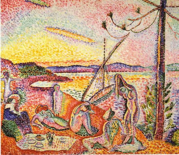 Henri Matisse - Lusso, calma e voluttà - 1904, olio su tela, Musée d'Orsay, Parigi