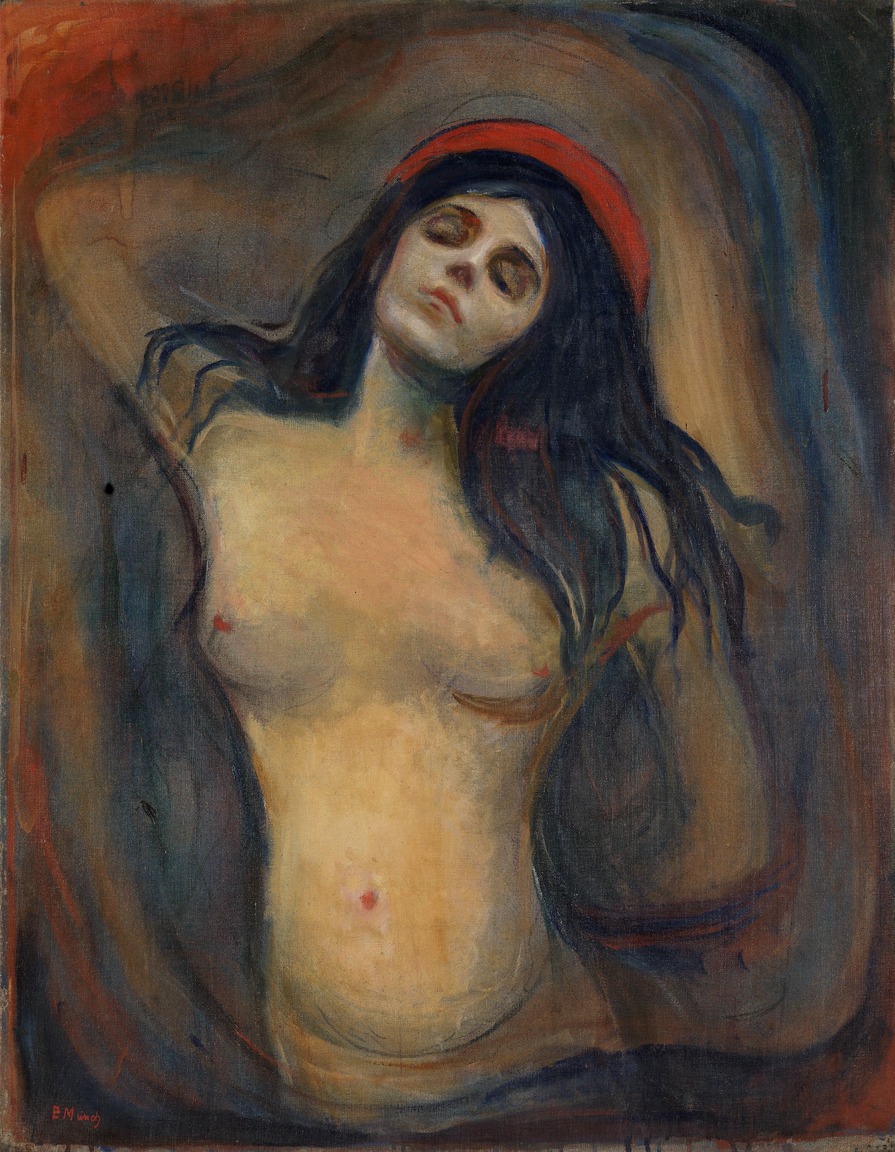 Edvard Munch - Madonna - 1894-1895, olio su tela, Munch Museum, Oslo