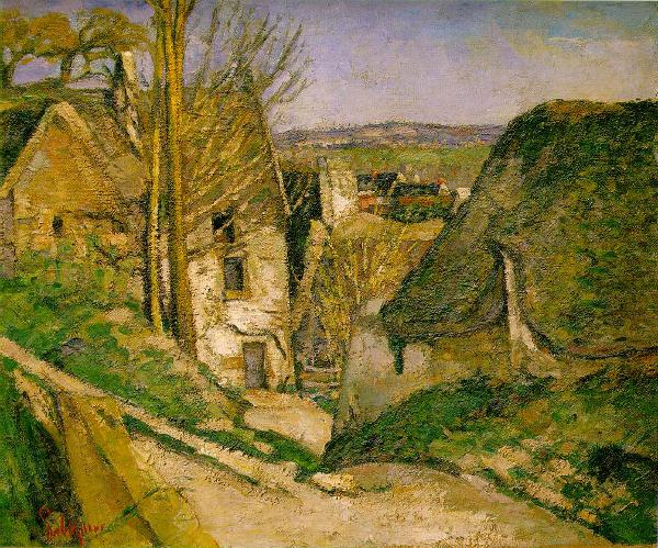Paul Cézanne - La casa dell'impiccato - 1873, olio su tela, Museo d'Orsay, Parigi
