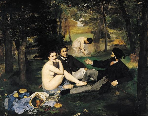 Édouard Manet - Le déjeuner sur l'herbe - 1862-1863, olio su tela, Musée dìOrsay, Parigi