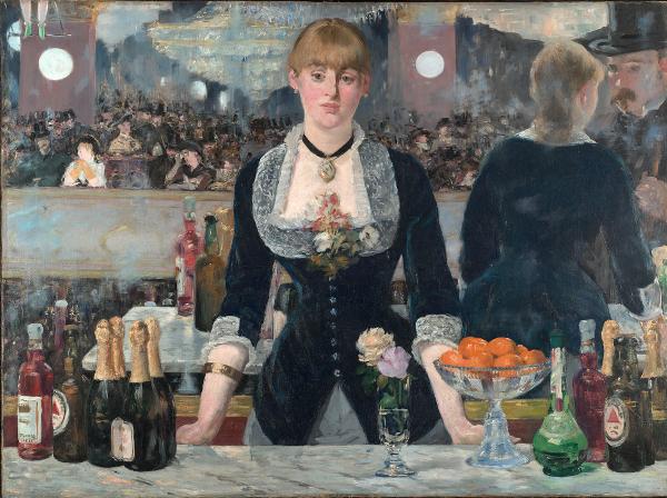 Édouard Manet - Un bar aux Folies Bergère - 1882, olio su tela, Courtauld Gallery, Londra